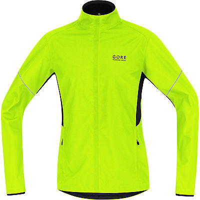 GORE RUNNING WEAR ESSENTIAL WINDSTOPPER Active Shell Partial Giacca Small