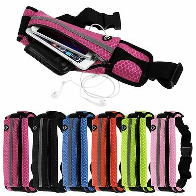 Anti-theft Slim Running Cell Phone Waist Fanny Pack Bag Sports Belt Pouch Case