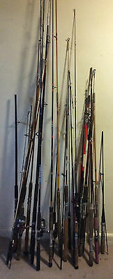 Vintage Fishing Rods Lot