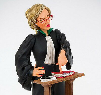 "GUILLERMO FORCHINO Professionals ""Lady Lawyer - Anwältin - L´Avocate"" - FO85514"
