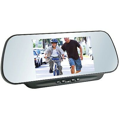 """BOYO VTM600M 6"""" LCD Clip-on Rearview Mirror Monitor"""