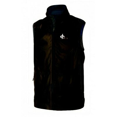 Cross Vapor Vest black Windbreaker Herrenweste