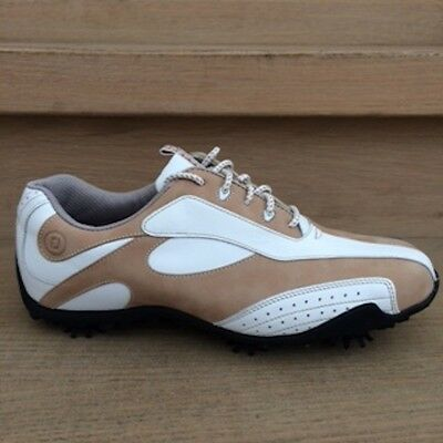 Footjoy LoPro Collection weiss/sand Damen Golfschuh Style 97143k