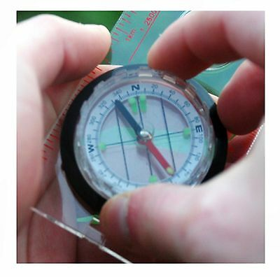 Professional Map Reading Compass Army Boating Camping Scouts Hiking Orienteering