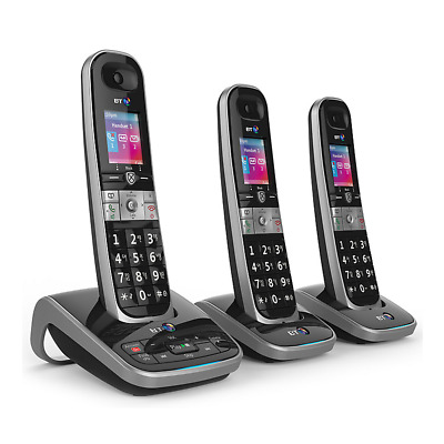 BT 8610 Trio Digital Cordless Phone With Answer Machine & Advanced Call Blocking