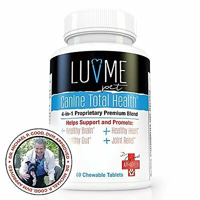 Probiotics For Dogs, Canine Total Health  - Best Nutrient Based Supplement