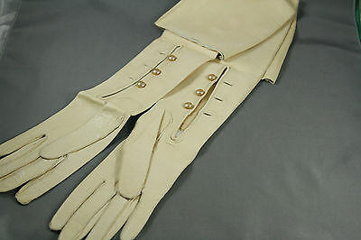 Vtg Kid Leather Opera Gloves Never Worn Size 6 1/4 Boxed Wurtemberg  T Eaton Co