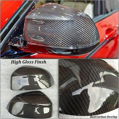 Carbon Fibre Replacement Side Mirror Covers For Bmw X5 F15 2014 - 2016