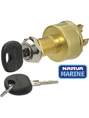 Narva 4 Position Ignition Switch (Marine) (64012)