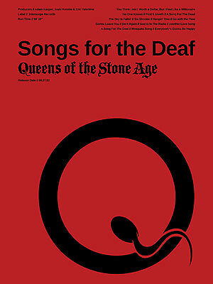 Queens of the Stone Age Poster - Songs for the Deaf - QOTSA Poster - JOAP