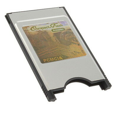 CF Compact Flash Card Reader Adapter Converter to PC Laptop PCMCIA HR