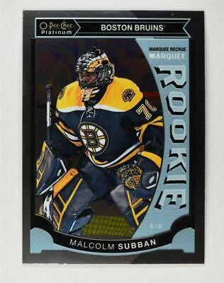 2015-16 O-Pee-Chee Platinum Marquee Rookies #M5 Malcolm Subban - NM-MT