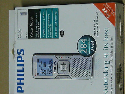 Philips Voice tracer 860, Voice Recorder  1GB 139 hours record time