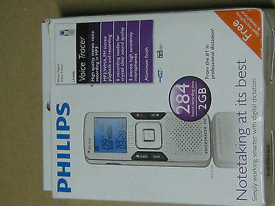 Philips Voice tracer 880, Voice Recorder  2GB  284 hours record time