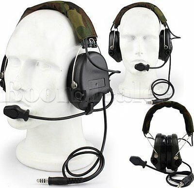 Tactical MSA SORDIN Noise Cancel Headset For Hunting Electronic Shooting EarMuff