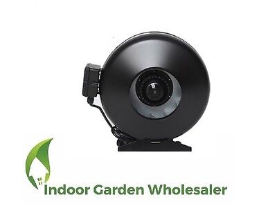 """10"""" 250Mm Centrifugal Fan Ventilation Exhaust Fan With Metal Blade And Casing"""