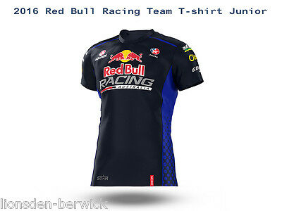 New Genuine Official 2016 Red Bull Racing Team T-shirt Junior (select your size)