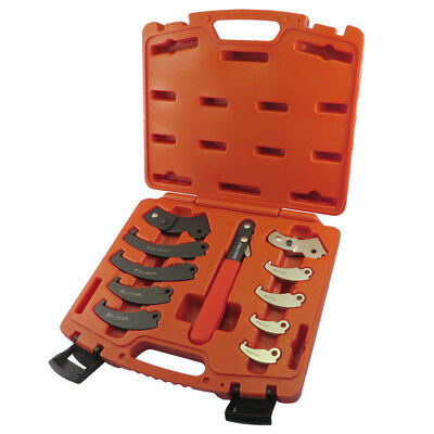 FIT TOOLS Universal Adjustable Pin and  Hook  Spanner Wrench Set-US