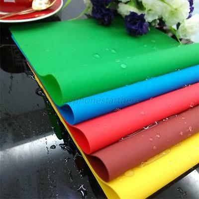 Flexible Silicone Baking Mat Non Stick Pan Liner Placemat Table Protector 6Color