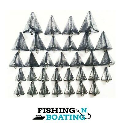 STAR SINKERS SIZE 1,2,3,4 x 32 BULK VALUE SINKER FISHING TACKLE PROFESSIONALMADE