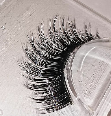 100% 3D False Lashes Flutter Individual Extension SALE Reduced MS Lilly Hand UK