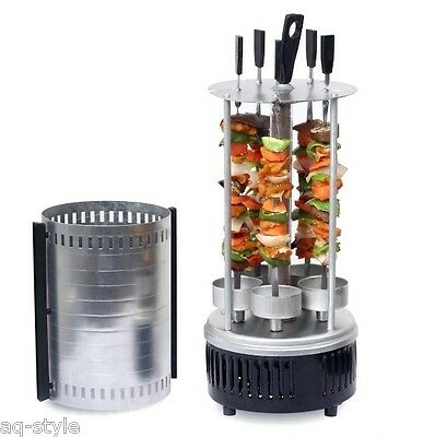 Electric Russian Indoor Outdoor barbecue BBQ Grill Hunting-3 Great Rivers NEW!