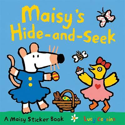 Maisy's Hide-and-seek Sticker Book by Lucy Cousins BRAND NEW (Paperback, 2012)