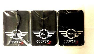 Mini Cooper S JWC S One S Paceman S Clubman S Car Air Freshener Deal 3 for £5.99