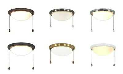 light kit 15r for CasaFan and Hunter ceiling fans in various colours