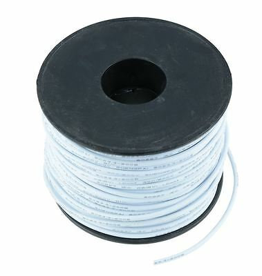 White 1mm PVC Stranded Automotive Wire Cable 32/0.2mm 50M Reel