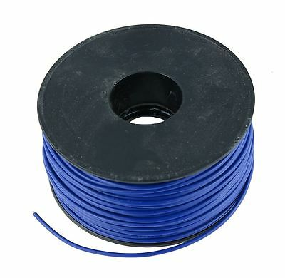 Blue 0.5mm PVC Stranded Automotive Wire Cable 28/0.15mm 50M Reel