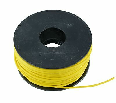 Yellow 0.5mm PVC Stranded Automotive Wire Cable 28/0.15mm 50M Reel