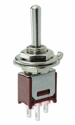 Subminiature On-Off-On Toggle Switch 1.5A