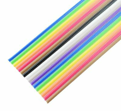 16-Way Coloured Ribbon Cable 28AWG (price per metre)