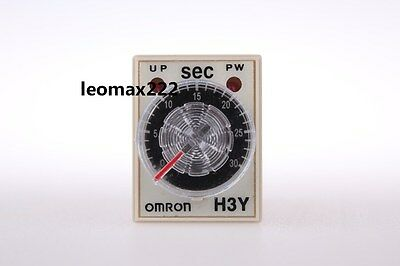 Ebay 10pcs OMRON time timer relay 8pin H3Y-2 H3Y DC24V 5A 1.0-30Seconds 30S