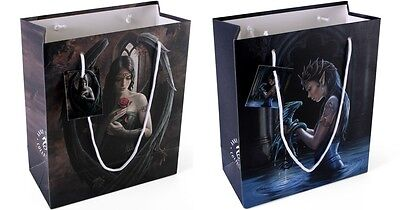 Anne Stokes Gift Bags Small Medium Angel Rose Water Dragon Gothic Present New