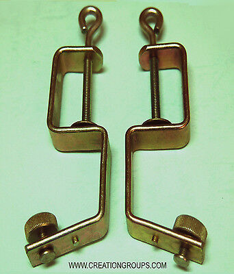 2 Table Clamp for 4.5mm Brother Ribber KR830 KR838 KR850 KR710 KR900 KR900E