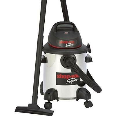 Shop Vac Pro 25L Stainless Steel Wet / Dry Vac1800W Canister Vacuum Cleaner NEW1