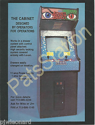CONVERT-A-GAME CABINET- Video Game Flyer