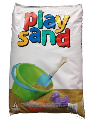 Childrens Play Pit Sand Large 25 kg Bag Outdoor Garden Summer Fun Toy For Kids