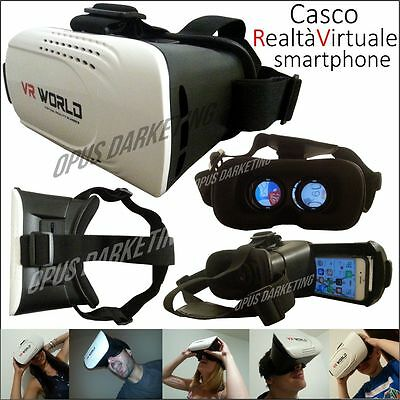 Casco Vr Realta Virtuale Visore Game Occhiali Per Apple Iphone 5 5G 5S