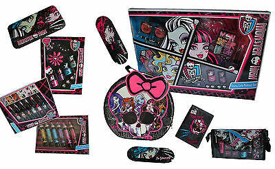 Monster High! Beauty Makeup Collection, Cases & Nail Set! Little Girl Xmas Gift!