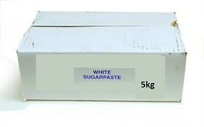 5kg Sugarpaste Sugar Paste Ready to Roll Cake Decorating Fondant Icing 5 kg 1 2