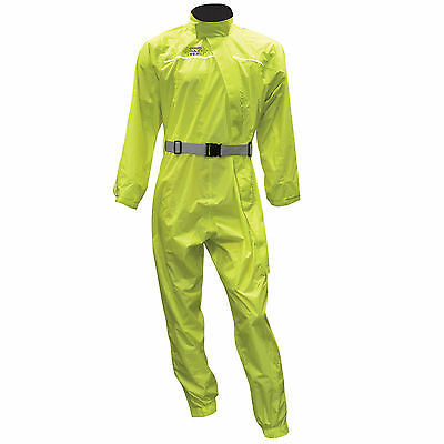 Oxford Rainseal Motorcycle Waterproof All Weather Oversuit Fluorescent Yellow  T