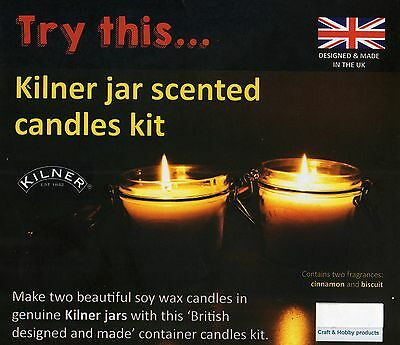 Kilner Jar Scented Candle Making Kit, Brand New