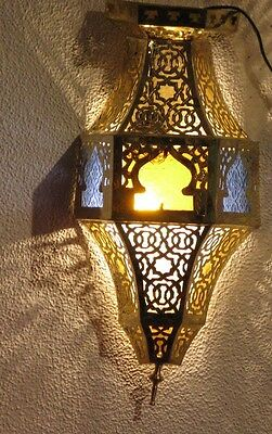 Brass wall sconce-Brass sconce-Moroccan sconce-Moroccan wall sconce-Sconce light