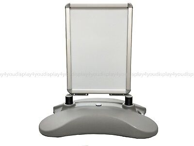 A2 Waterbase Pavement Poster Sign A-Board- Snap Frame Shop Display Stand