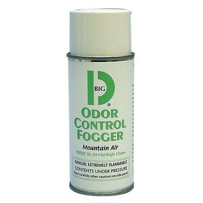 Big D Odor Control Fogger Mountain Air Scent Case of 12 - 5 ounce cans