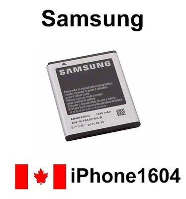 New Battery EB494358VU for SAMSUNG S5830 1350mAh 3.7V