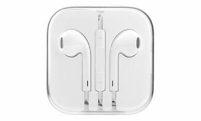Brand New Original Apple Ear Phones Earbuds In-Ear with Remote and Mic White